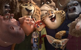 Zootopia, cartoon movie HD wallpaper