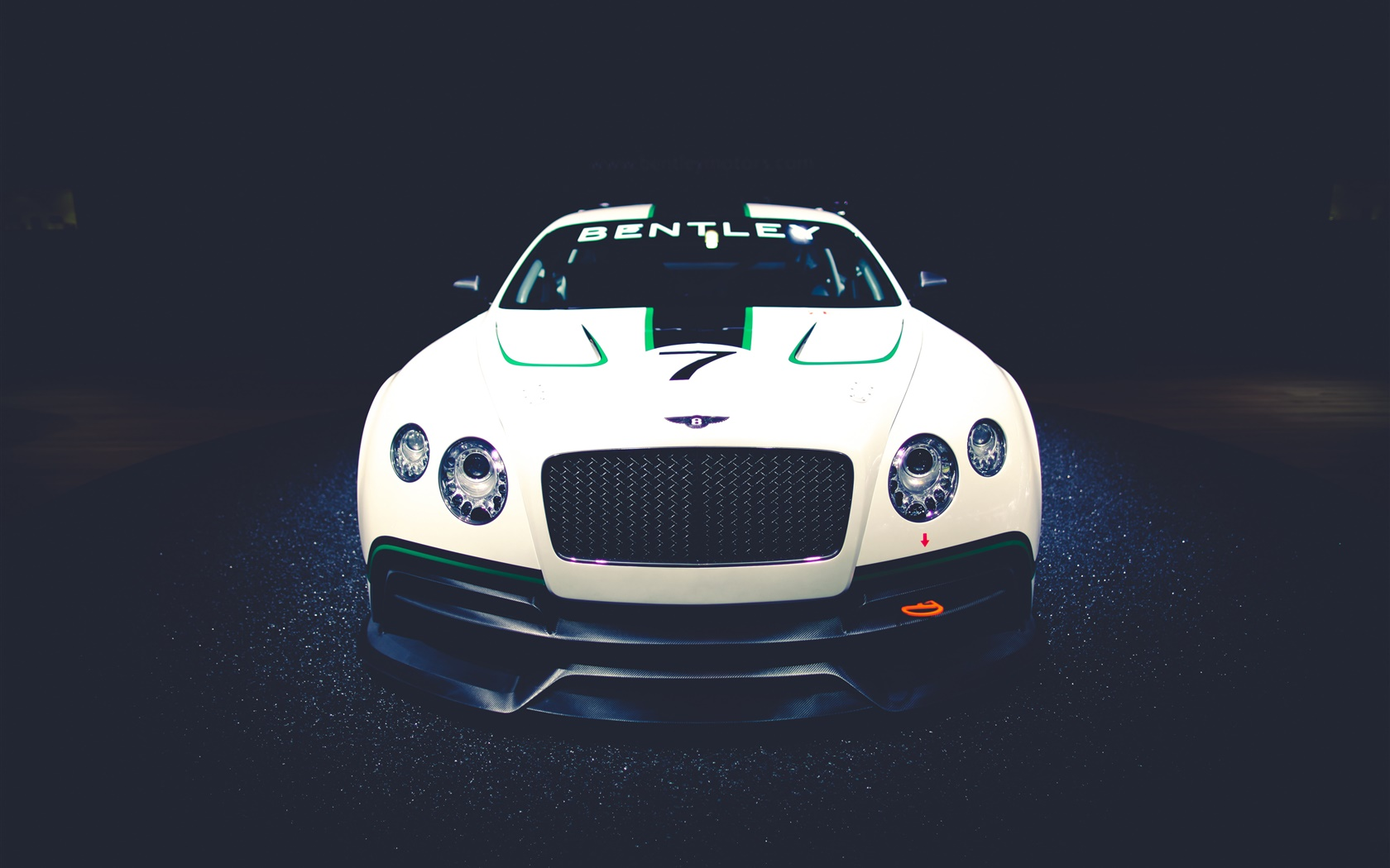 Bentley Continental GT3 Concept race car front view 1680x1050 wallpaper