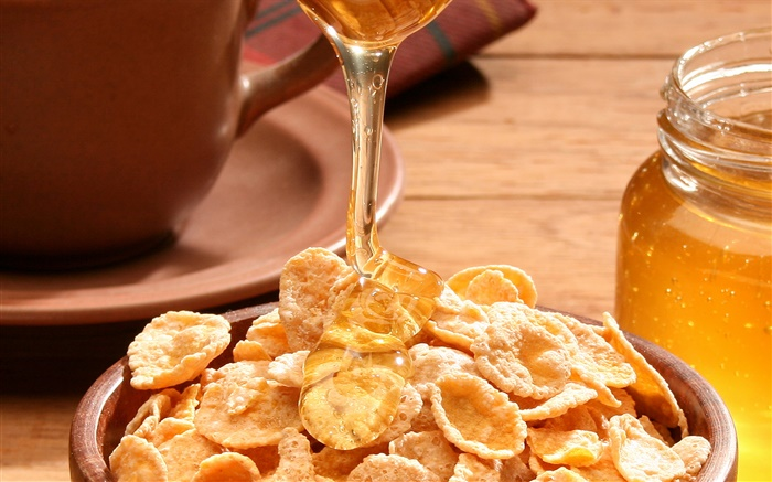 Food, cereals, honey Wallpapers Pictures Photos Images