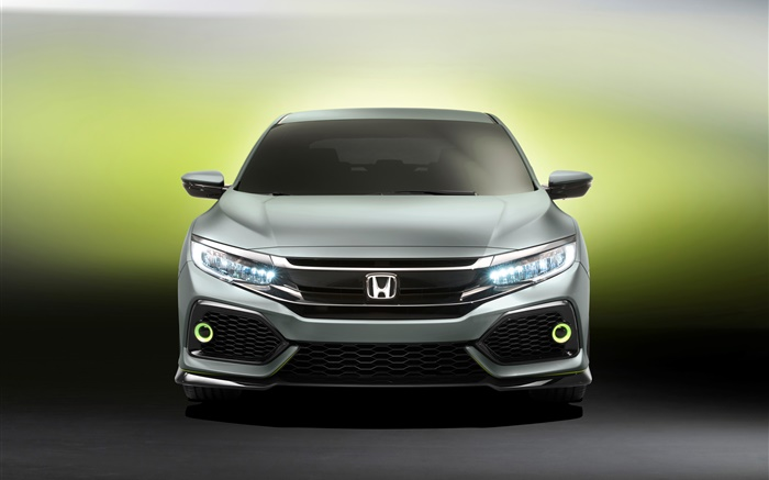 Honda Civic Hatchback car front view Wallpapers Pictures Photos Images