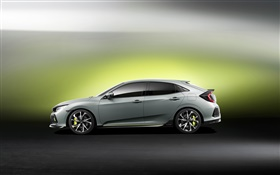 Honda Civic Hatchback car HD wallpaper
