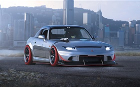 Honda S2000 S2-4R sport car front view