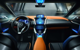 Lexus LF-NX concept car cab HD wallpaper