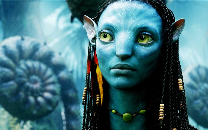 Avatar, blue skin girl Wallpapers Pictures Photos Images