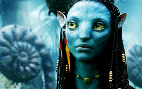 Avatar, blue skin girl HD wallpaper