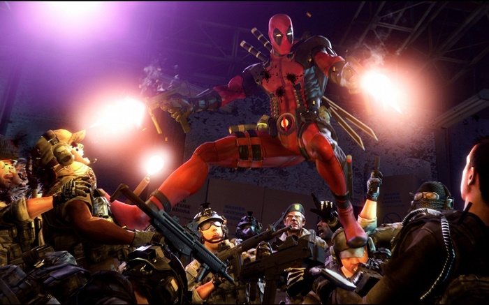 Deadpool, marvel comics, games Wallpapers Pictures Photos Images
