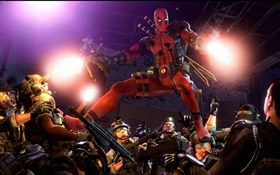 Deadpool, marvel comics, games HD wallpaper
