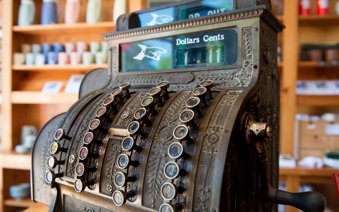 Antique cash register Wallpapers Pictures Photos Images