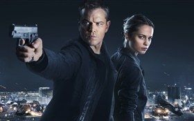 Jason Bourne 2016 movie HD wallpaper