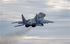 MiG-29SMT fighter flight HD wallpaper