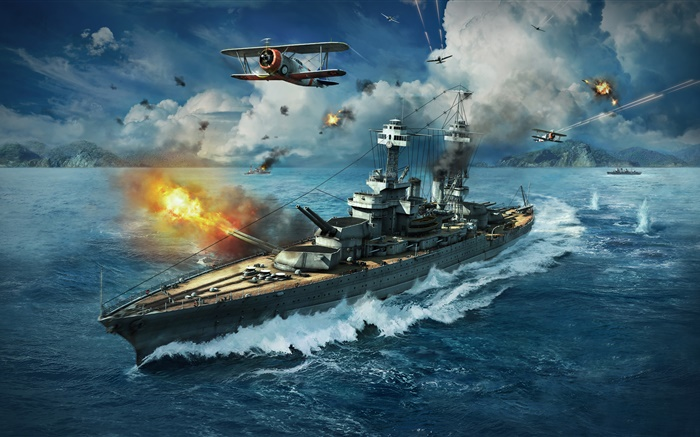 World of Warships, PC games Wallpapers Pictures Photos Images