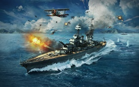 World of Warships, PC games HD wallpaper