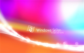 Windows 7 abstract colors background