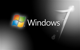 Windows 7 gray background HD wallpaper
