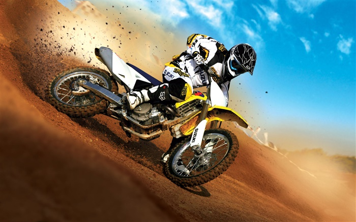 Suzuki motorcycle race Wallpapers Pictures Photos Images