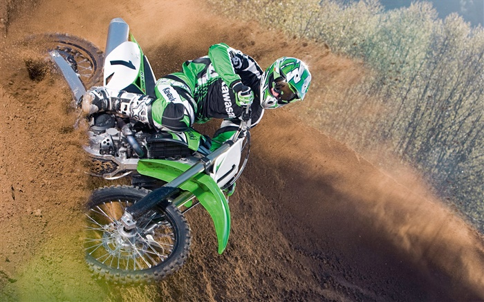 Kawasaki motorcycle race Wallpapers Pictures Photos Images