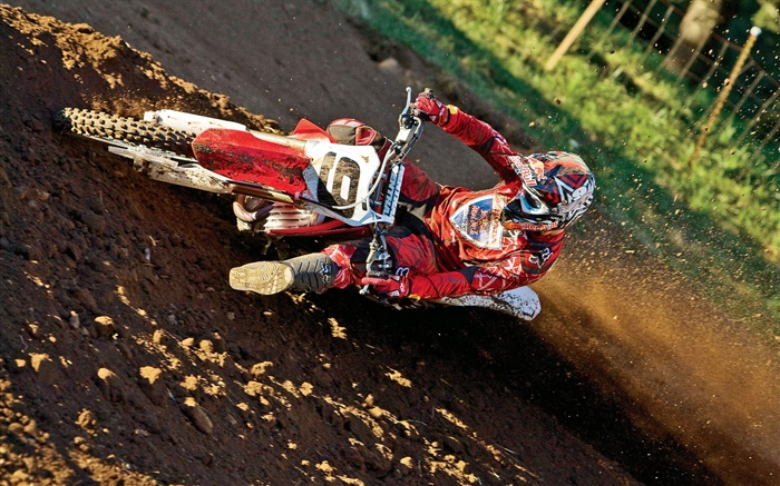 Motorcycle race, Honda, rider Wallpapers Pictures Photos Images