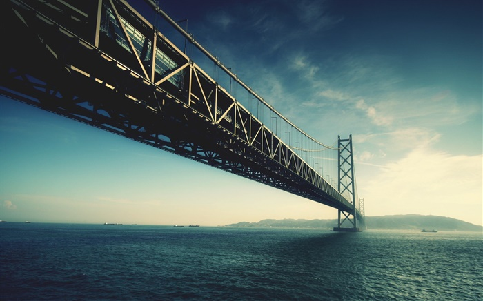 San Francisco, bridge, sea, USA Wallpapers Pictures Photos Images