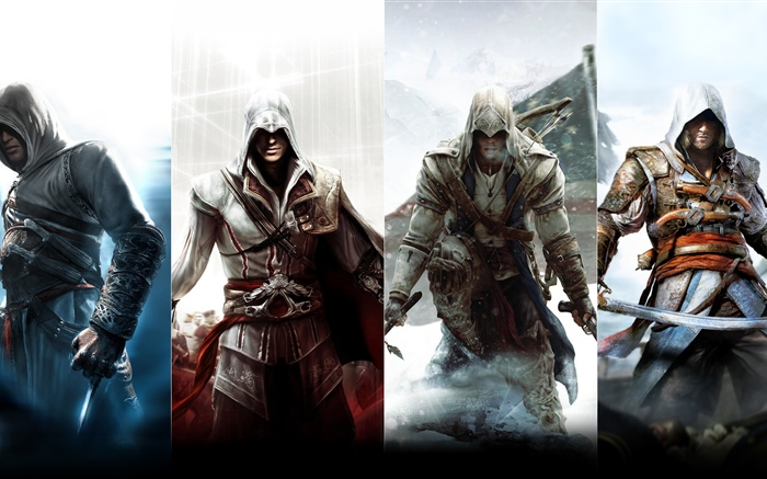 Assassin S Creed Characters Hd Wallpapers Games Desktop