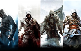 Assassin's Creed, characters HD wallpaper