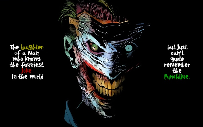 Joke, man, black background, art pictures Wallpapers Pictures Photos Images