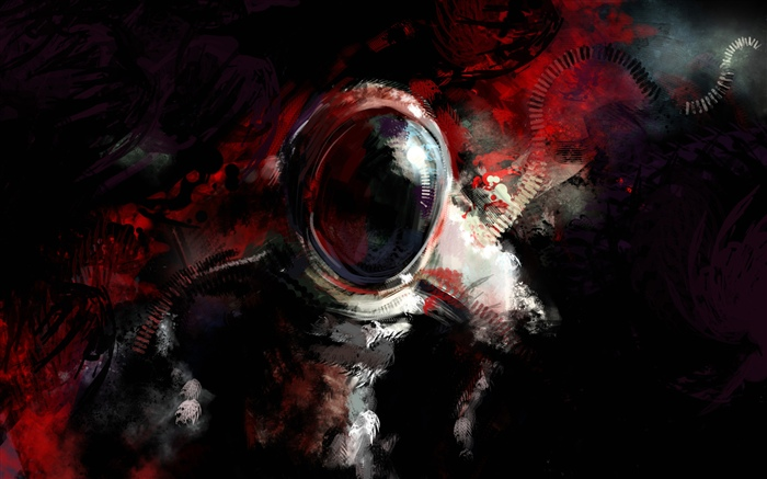 Mysterious astronaut, art fantasy Wallpapers Pictures Photos Images
