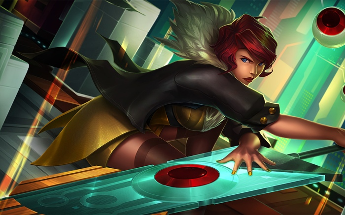 Transistor, SuperGiant Games, blue eyes girl Wallpapers Pictures Photos Images