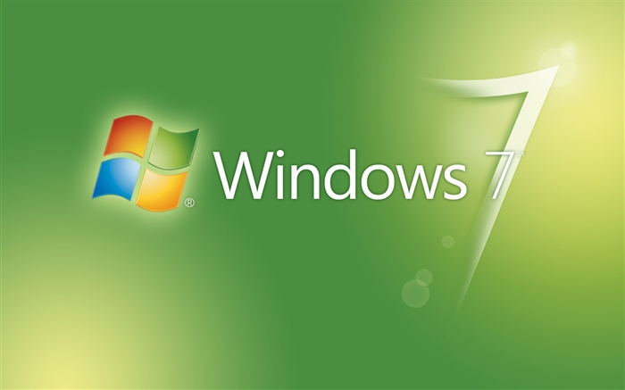 Windows 7 green abstract background Wallpapers Pictures Photos Images
