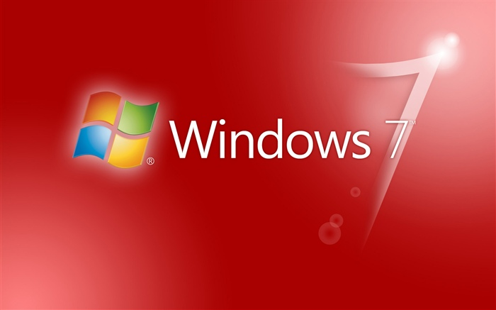 Windows 7 red abstract background Wallpapers Pictures Photos Images