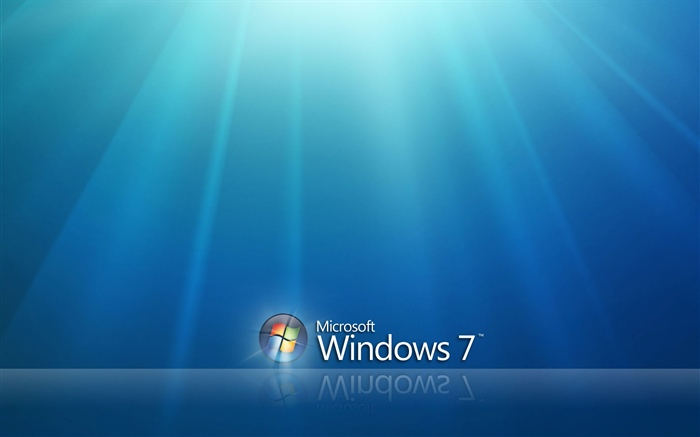 Windows 7 under blue sky Wallpapers Pictures Photos Images