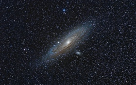 Andromeda Galaxy, space HD wallpaper