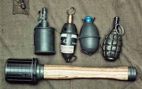Different grenades HD wallpaper