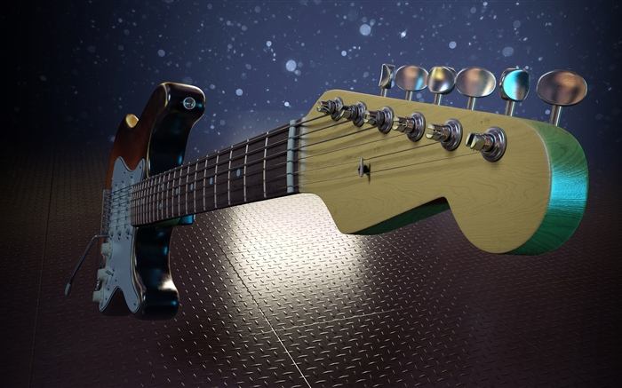Electric guitar, music Wallpapers Pictures Photos Images