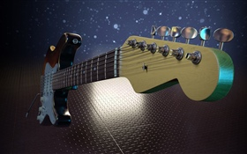 Electric guitar, music HD wallpaper