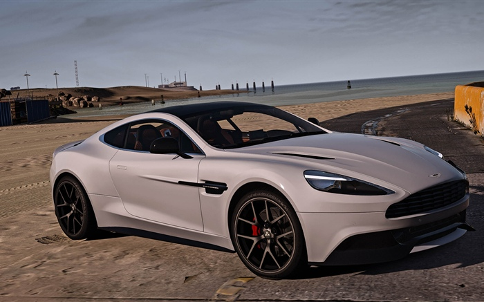 GTA 5, Aston Martin car Wallpapers Pictures Photos Images