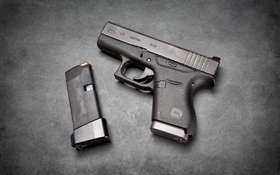 Glock 43 self-loading gun HD wallpaper