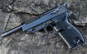 Mauser P38 gun 1944 HD wallpaper