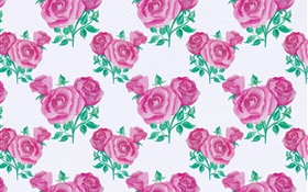 Pink roses texture background HD wallpaper