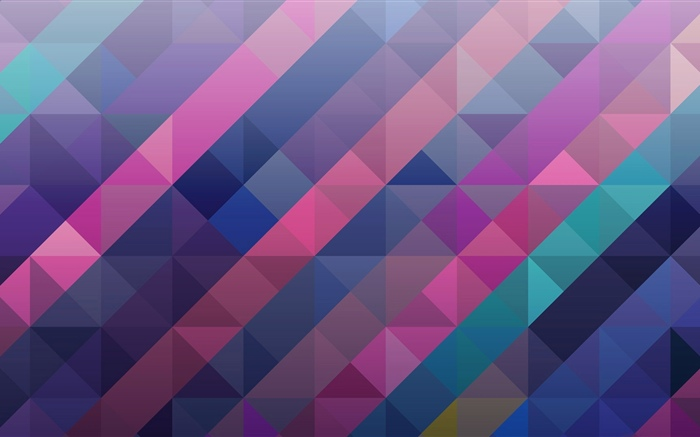 Square and triangle, abstract, colorful Wallpapers Pictures Photos Images