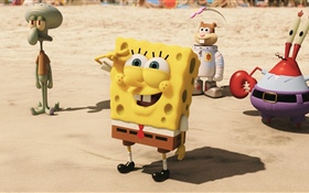 The SpongeBob Movie HD wallpaper