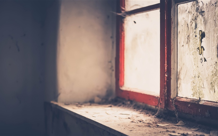 Windowsill, window, dirt Wallpapers Pictures Photos Images