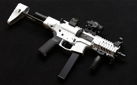 AR-15 style rifle, weapon HD wallpaper