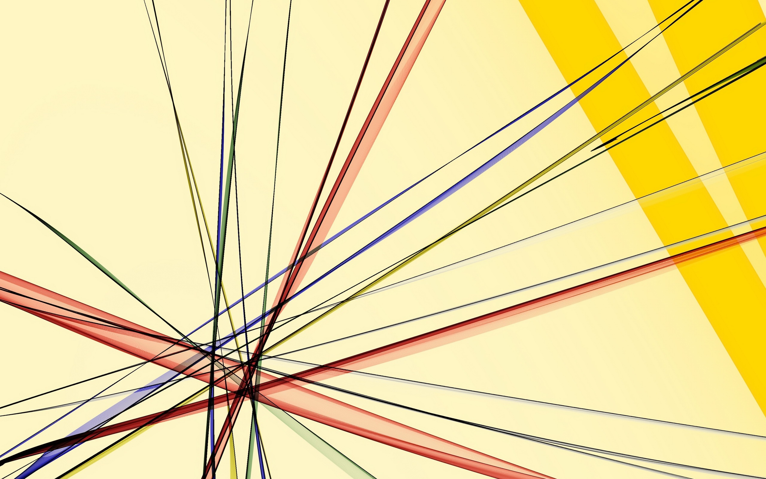 Abstract background, colorful lines 2560x1600 wallpaper
