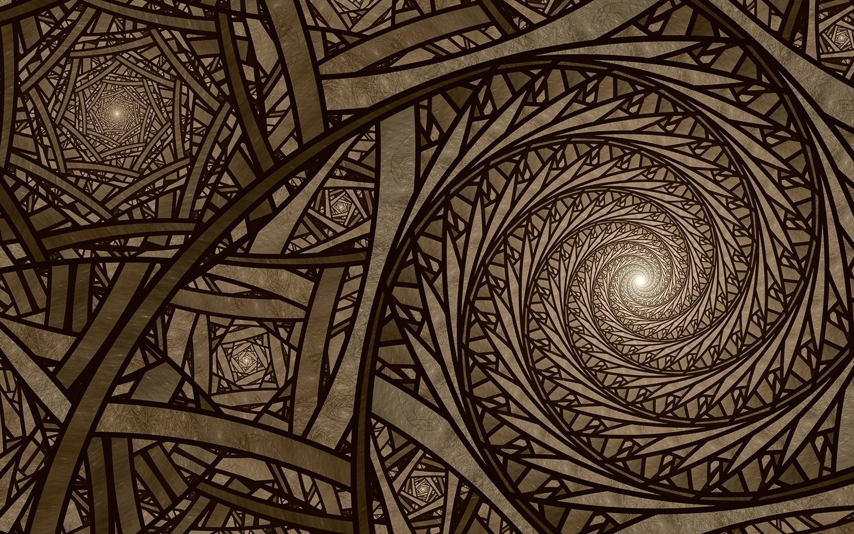 Abstract, spiral, light 1680x1050 wallpaper