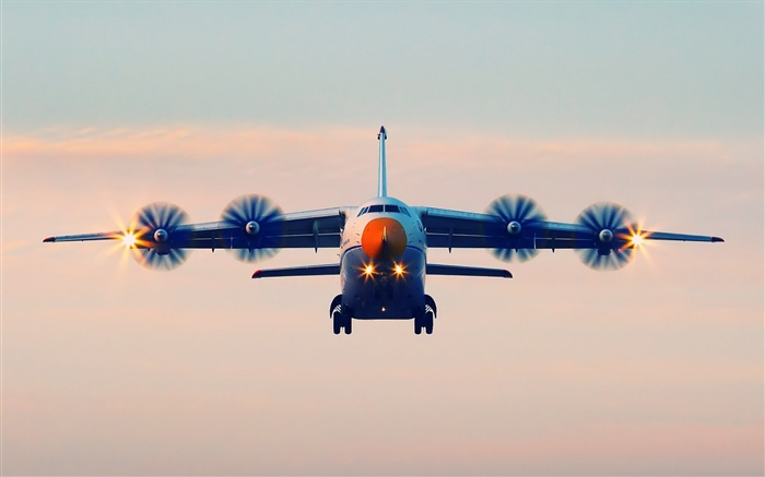 Antonov An-70 plane flight Wallpapers Pictures Photos Images