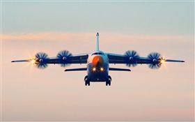 Antonov An-70 plane flight