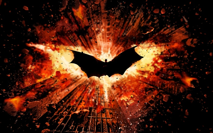 Batman, wings, city Wallpapers Pictures Photos Images