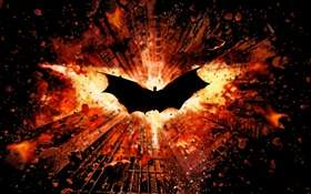 Batman, wings, city HD wallpaper