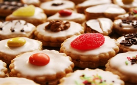 Delicious cookies HD wallpaper