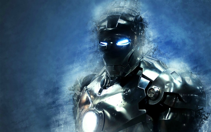 Iron Man, art picture Wallpapers Pictures Photos Images